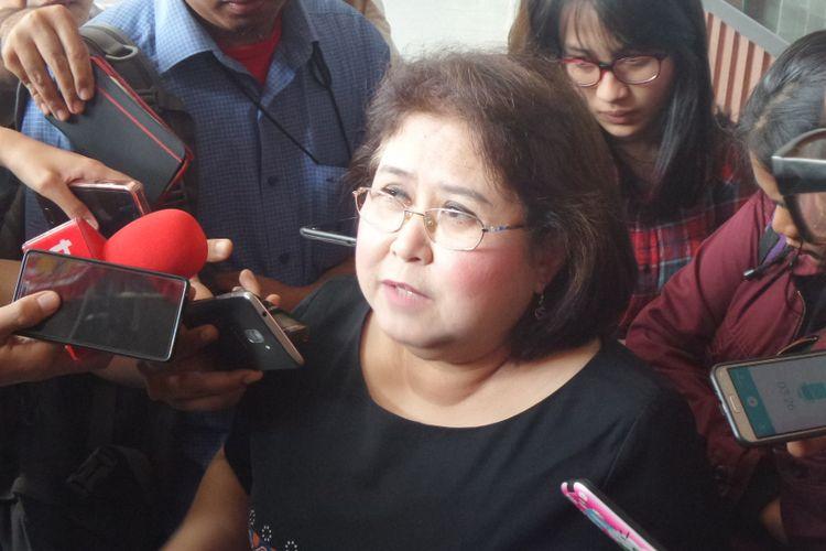 Pengacara Elza Syarief di Pengadilan Tipikor Jakarta, Senin (21/8/2017).