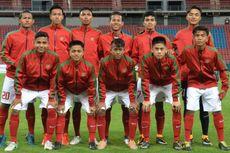 Susunan Starter Timnas U-16 Indonesia Vs Thailand, Zico Isi Lini Depan