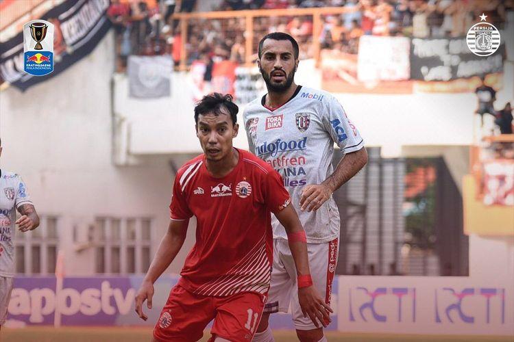 Pertandingan leg kedua babak 8 besar Kratingdaeng Piala Indonesia 2019 Persija Vs Bali United, di Stadion Wibawa Mukti, Cikarang, Minggu (5/5/2019).