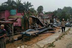 Diterjang Puting Beliung, 6 Rumah Warga dan 1 Tempat Ibadah Rusak di Riau