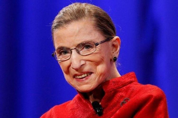 Ruth Bader Ginsburg. Hakim Agung Amerika Serikat. Dia meninggal pada Jumat (18/9/2020) di usia 87 tahun.