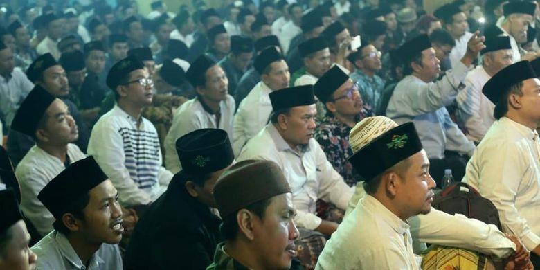 Ketua Umum Partai Kebangkitan Bangsa (PKB) terus meningkatkan konsolidasi pemenangan pasangan calon presiden Joko Widodo - KH Ma?ruf Amin. Bertempat di Gedung Pertemuan Kota Salatiga, Selasa (12/3/2019).