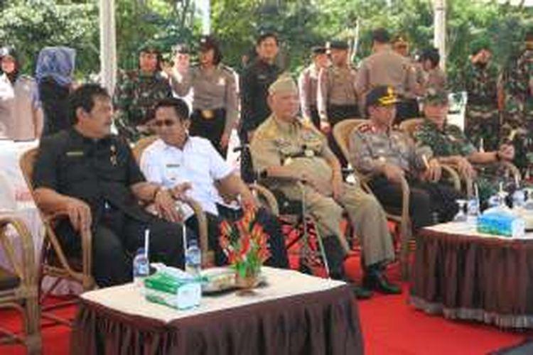 Kapolda Kaltim mengeluarkan maklumat, menlarang warga Kaltim - Kaltara untuk mengikut demonstrasi di Jakarta  (foto spesial)