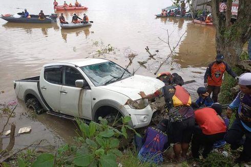 Diduga Salah Injak Pedal Gas, Petugas Cuci Mobil dan Kendaraan Meluncur ke Sungai, Jasad Ditemukan 2 Hari Kemudian