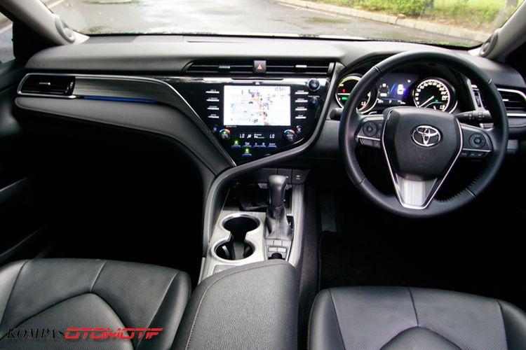 Interior All New Camry Hybrid