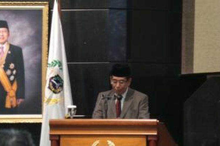 Ketua Komisi C yang juga anggota Fraksi Partai Persatuan Pembangunan (PPP) Maman Firmansyah.