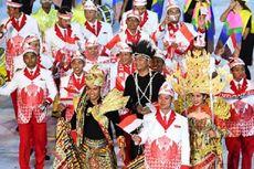 Kostum Kontingen Indonesia Jadi Perhatian Dunia