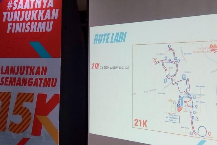 Pelaksanaan Danamon Run 2018 dilaksanakan pada 25 November 2018 untuk memperingati Hari Kesehatan Nasional yang diperingati setiap tanggal 12 November. Pada penyelenggaraan Danamon Run 2018, tersedia jarak tempuh 21 kilometer (K) atau disebut juga half marathon.