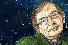 Penghormatan bagi Stephen Hawking, Suaranya Dikirim ke Lubang Hitam