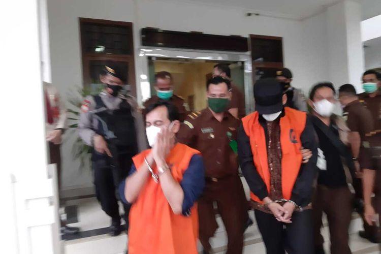 Sebanyak 2 mantan kepala cabang BRI Pangkalpinang ditahan jaksa, Rabu (19/5/2021).