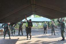 Tak Tega Lihat Siswa Kepanasan, Kodim Cianjur Dirikan Tenda untuk Kelas Darurat