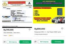 Viral Twit Jasa Pembuatan SIM di Tokopedia, Ini Klarifikasinya