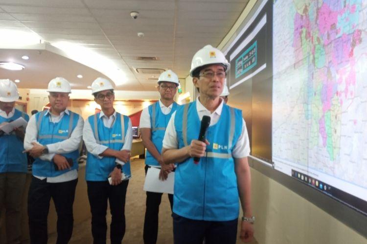 Press Conferece Pemadaman Listrik Sementara akibat banjir di Jakarta dan sekitarnya, Selasa (25/2/2020)