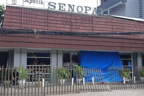 Apotek Senopati Ditabrak 2 Mobil dalam 2 Bulan, Pembatas Jalan di Lokasi Kejadian Akan Dinaikkan