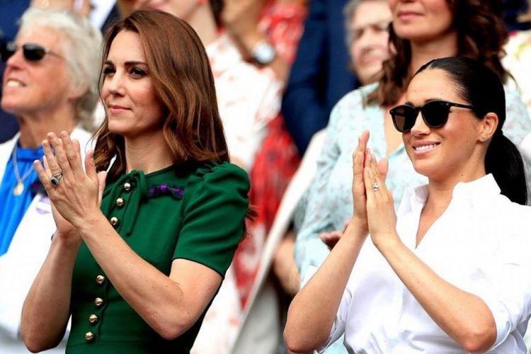 Kate Middleton, Meghan Markle, dan cincin pertunangan itu.