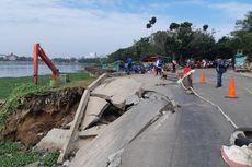 Sudin SDA Akan Tutup Jalan Pluit Timur Raya untuk Perbaikan Longsor