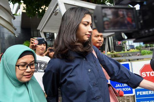 Artis Faye Nicole Diperiksa KPK Terkait Kasus Wawan