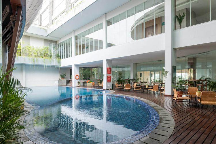 Swimming Pool di Sunerra Antero Hotels, Jababeka, Cikarang