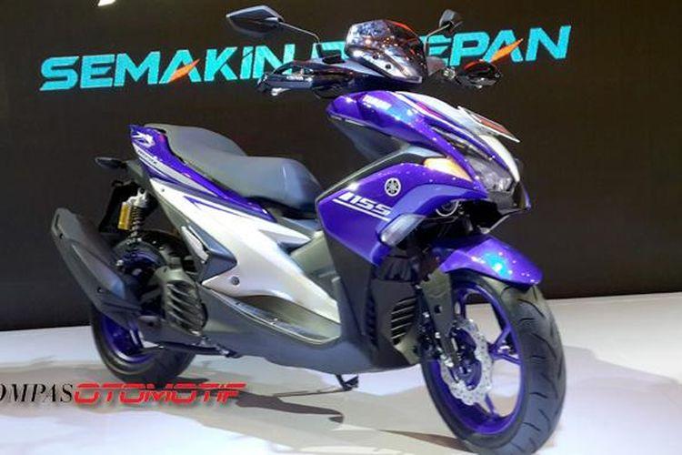 Yamaha Aerox 155 VVA dipandang bakal makan pasar NMAX, saudaranya sendiri.