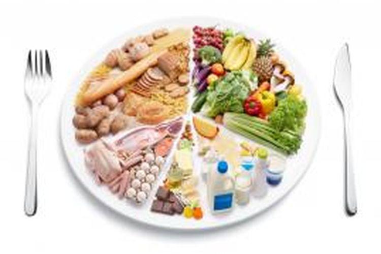 Ilustrasi menu makanan