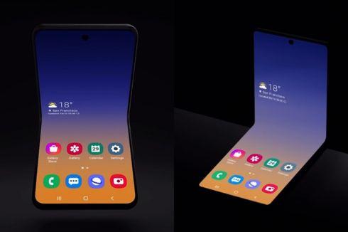 Ponsel Lipat Galaxy Fold 2 dari Samsung Bakal Mirip Motorola Razr?