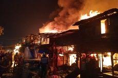 Puluhan Rumah Terbakar di Penjaringan, Diduga akibat Korsleting