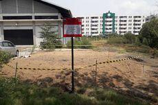 Gundukan Tanah Diduga Limbah di Marunda Dipasang Papan Peringatan