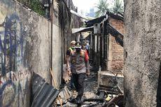 25 Rumah di Belakang Senayan City Terbakar, Diduga akibat Korsleting