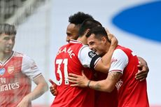 Arsenal Vs Leicester, Rekor Mentereng The Gunners saat Jamu The Foxes