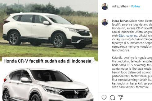 Bocor Penampakan Honda CR-V Facelift di Indonesia, Kapan Meluncur?