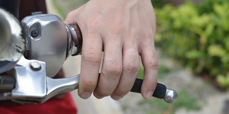 Ilustrasi rem sepeda motor