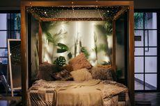 Ide Dekorasi String Light untuk Membuat Kamar Tidur Lebih Dramatis
