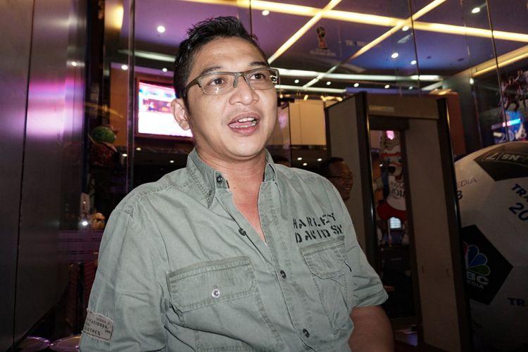 Pasha Ungu ditemui di gedung TransTV, Jalan Kapten Tendean, Jakarta Selatan, Kamis (14/6/2018).