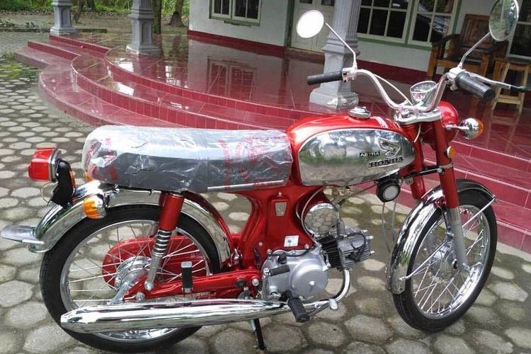 Motor tua bisa jadi objek investasi