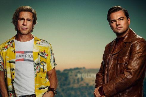 Leonardo DiCaprio dan Brad Pitt Satu Panggung di Golden Globe 2020