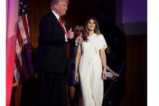 Melania Trump Kenakan Gaun Rp 52 Juta pada Pidato Kemenangan Sang Suami
