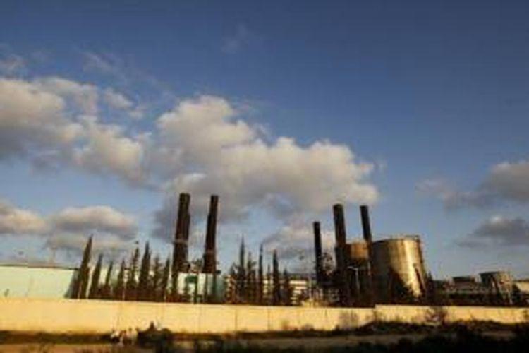Pembangkit listrik di Gaza