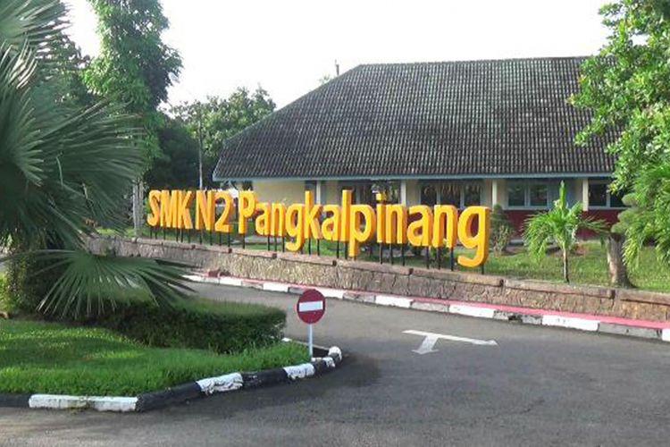 Gedung SMK Negeri 2 Pangkal Pinang, Kepulauan Bangka Belitung.