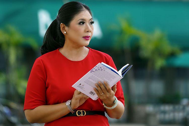 Evy Amir Syamsudin, founder startup PT Hello Kreasi Indonesia (Hi App) yang merupakan aplikasi berbagi pesan buatan lokal.