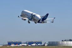 Airbus Beluga XL Terbang Perdana di Atas Kota Toulouse