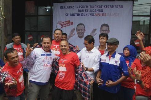 Nasdem Akan Beri Sanksi Kader yang Deklarasi Mendukung Anies-Sandi