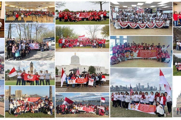 Beberapa foto dari agenda Amerika Bersatu. Saat menanggapi demonstrasi George Floyd, Amerika Bersatu mengimbau para WNI di AS untuk memegang teguh Bhinneka Tunggal Ika sebagai pemersatu.