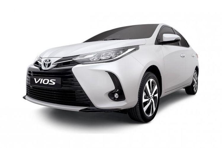 Toyota Vios facelift di Filipina