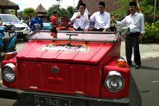 Daftar Pilkada Kabupaten Magelang, Zaenal-Edy Dikirab Mobil VW Safari