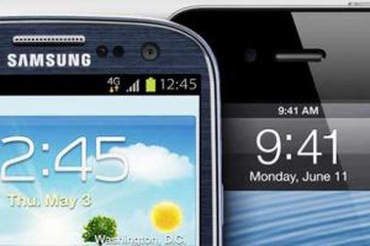 Samsung dan Apple