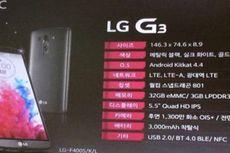 Benarkah Ini Spesifikasi Resmi LG G3?