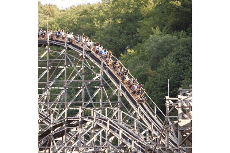 Wahana T-express di Everland Theme Park