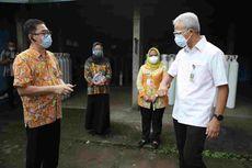 Ganjar Pastikan Stok Oksigen RS di Jateng Aman meski Kasus Covid-19 Meningkat