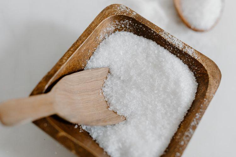 Ilustrasi garam, salah satu yang dapat menyebabkan darah tinggi.