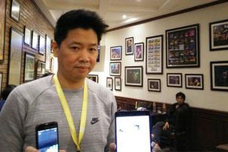 CEO Kurio David Wayne Ika mengomentari platform beriklan di perusahaan internet dunia seperti Google, Facebook dan Twitter yang bikin kecanduan.